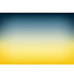 Blue Teal Yellow Gradient Background vector image