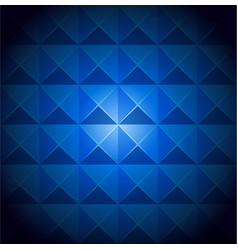 Blue vivid color of abstract pattern tile vector