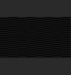 brushed metal aluminum black colors dark pattern vector image
