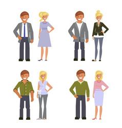 Business dress code vector