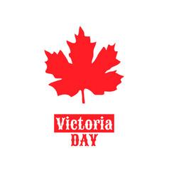 Canada victoria day may 22 vector