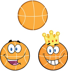 Cartoon basketball design vector