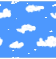 Clouds Seamless Texture vector image