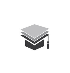 education logo template vector image