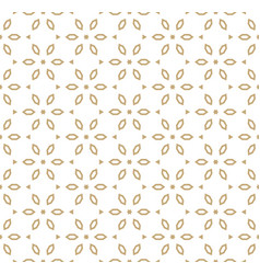 Geometric gold pattern in japanese style vector