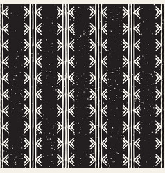 hand drawn seamless pattern modern stylish vector image