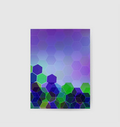 hi-tech abstract background poster geometric vector image