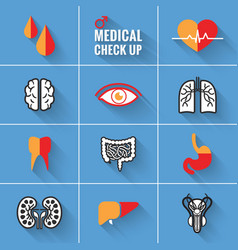 Medical Check Up Man vector image