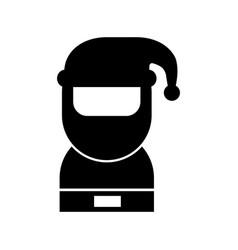 santa claus avatar character vector image
