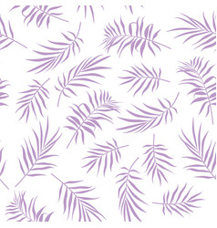 Tropical seamless floral pattern background vector