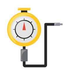 tire gauge icon vector image