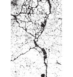 Cracked Grunge Background vector image vector image