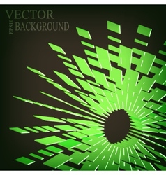 Abstract dotted background vector image