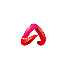 Androza a letter symbol logo vector