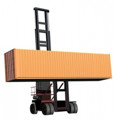 Container lift vector