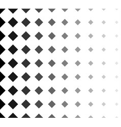 halftone with squares fading squares background vector image