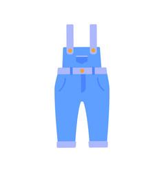 Romper suit jeans poster vector