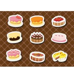 Sweet dessert vector