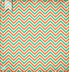 vintage chevron pattern vector image