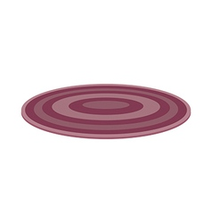 A rug on the floor vector