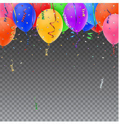 Celebration background template vector image