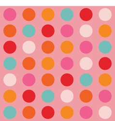 Color Big Dots Pattern vector