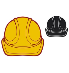 construction workers hard hat vector image