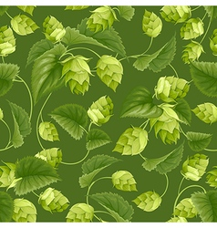 hops seamless pattern vector image
