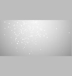 Magic stars random christmas background subtle fl vector