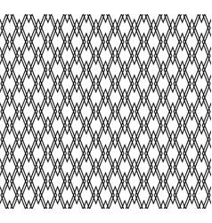 Pattern with interlocking edgy angular rectangle vector