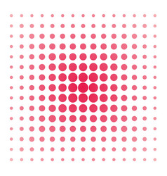 Pink dots on white background vector