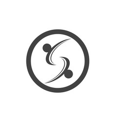 s business corporate letter logo design vector image