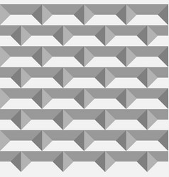 3d paper bricks seamless pattern vector image