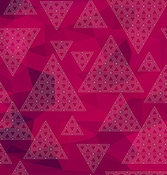 Abstract Triangle Geometrical Multicolored vector image