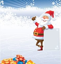 Christmas of santa claus vector