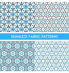Fabric Patterns vector