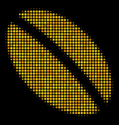 Wheat seed halftone icon vector