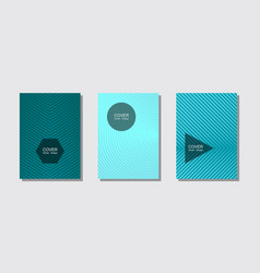 brochure covers posters banners templates vector image