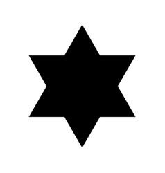David star icon vector