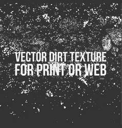 dirt texture for print or web vector image