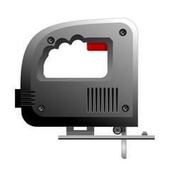 hand jigsaw vector image