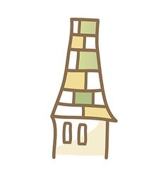Icon chimney vector