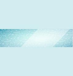 Medicine background header design vector