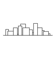 symbol city panorama vector image