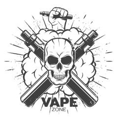 Vintage Vape Label vector