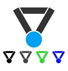 champion award flat icon vector image vector image
