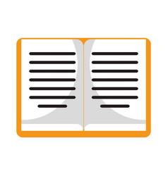 Book study investigation symbol vector