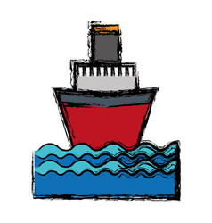 cruise icon image vector image