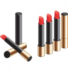 lipstick long vector image