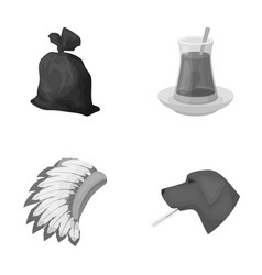 rest ecology animals and other web icon in vector image